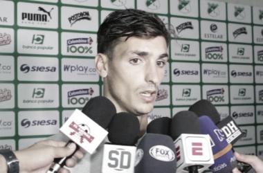 Juan Ignacio Dinenno, jugador del Deportivo Cali/ Daniela Rojas, Vavel.