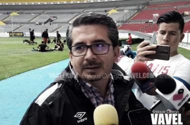 """Alberto Castellanos: """"Confío en que empiecen a llegar los resultados positivos"""""""