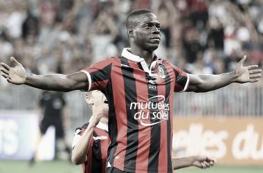 Restam apenas detalhes para Balotelli vestir a camisa do Flamengo (Foto: Divulgação / OGC Nice)