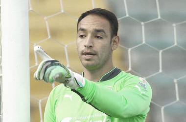 Diego Novoa fue la figura del partido al evitar la derrota de su equipo. Foto: Deportes RCN