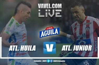 Resumen Atlético Huila vs. Atlético Junior por la fecha 11 de la Liga Aguila 2019 II (1-1)