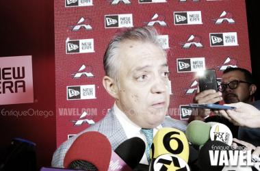 Salvador Quirarte, presidente de Astros / Foto: Enrique Ortega / VAVEL