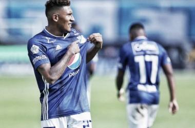 José Guillermo Ortiz, el mejor jugador del partido entre los 'embajadores' y Cúcuta Deportivo