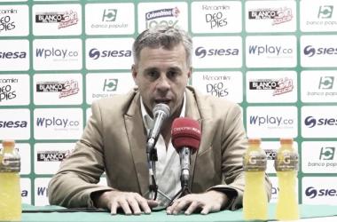 Lucas Pusineri, técnico del Deportivo Cali / Archivo Vavel.