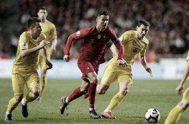 Resultado Ucrânia x Portugal pelas Eliminatórias da Euro 2020 (2-1)