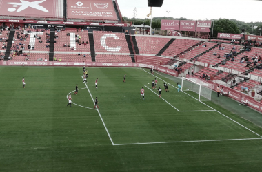 Nàstic de Tarragona - La Nucía (2-1): La suerte sonríe al Nàstic
