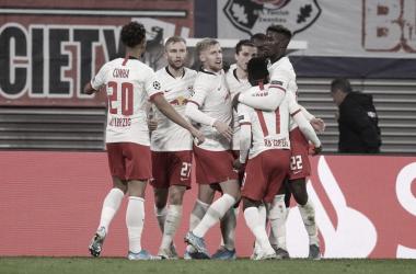 RB Leipzig vira sobre Zenit e assume liderança provisória do Grupo G