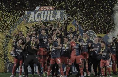 Independiente Medellín, un campeón invicto de la Copa Colombia