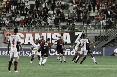 Brasil de Pelotas marca na reta final e arranca empate com Oeste no Bento Freitas