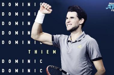 Thiem venció por tercer vez a Federer en el año. Foto: ATP
