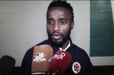 Stiven Mendoza, jugador de la Selección Colombia / El Vbar