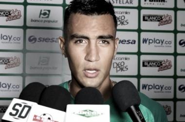 Christian Rivera, jugador del Deportivo Cali / Daniela Rojas, Vavel.