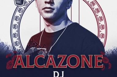 Cartel de la Final Internacional con la imagen de Alcazone (foto (sin efecto): Red Bull Batalla De Los Gallos).