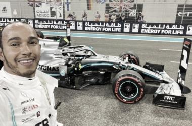 GP de Abu Dhabi: Hamilton é o pole; Verstappen e Leclerc ganham posição de Bottas