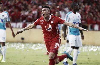 Michael Rangel, goleador de la Liga Águila II - 2019/ EFE
