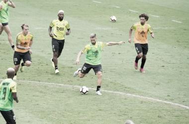 Flamengo treina em semana de embarque ao Catar para disputa do Mundial de Clubes
