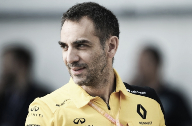Chefe da Renault, Abiteboul promete 'preencher a lacuna com as principais equipes'