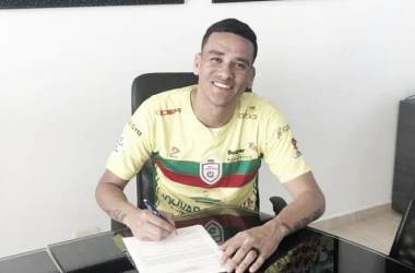 Óliver Fula, hombre de experiencia para Real Cartagena