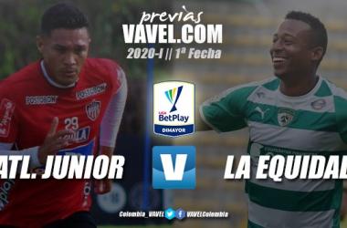 Previa Junior de Barranquilla vs. La Equidad: a iniciar el 2020 con toda