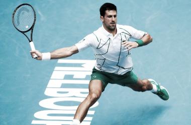 Djokovic frenó a Schwartzman; Federer también en cuartos