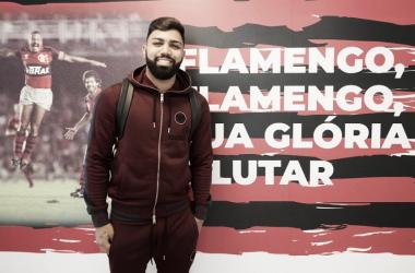 Após anunciar permanência no Flamengo, Gabigol se reapresenta no Ninho do Urubu