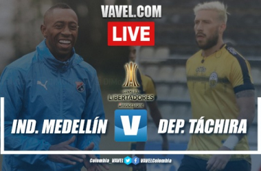 Goles y resumen Medellín vs Táchira (4-0)