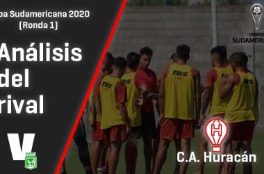 Atlético Nacional, análisis del rival: CA Huracán