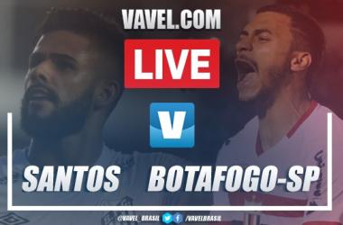 Gols e melhores momentos para Santos 2x0 Botafogo-SP pelo Campeonato Paulista 2020