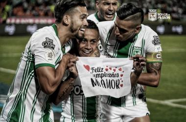 Atlético Nacional luchó y solo le alcanzó para empatar con Deportivo Cali