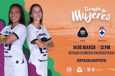 Pumas femenil jugará en el Estadio Olímpico