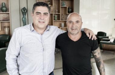 Desejo antigo, Atlético-MG assina com Jorge Sampaoli por dois anos