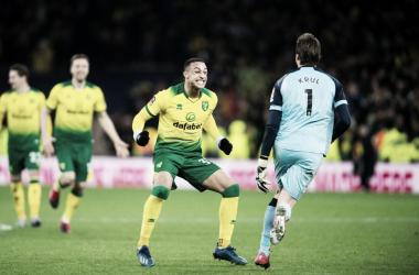 Norwich dio la sorpresa en una jornada presumible de FA Cup