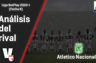 Santa Fe, análisis del rival: Atlético Nacional