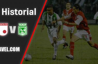 Historial entre Independiente Santa Fe y Atlético Nacional: duelo de campeones