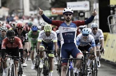 Bonifazio gana en el sprint la etapa más larga de la Paris Niza
