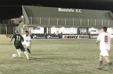Em noite de Caio Dantas, Boavista vence Cabofriense e segue com chances na Taça Rio