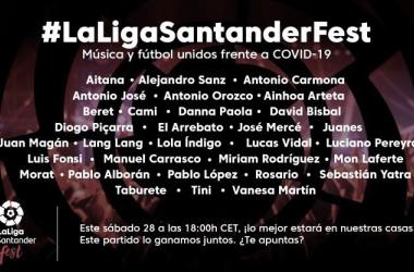 La Liga Santander Fest, el festival solidario de música y fútbol
