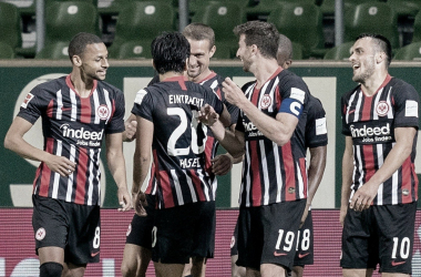 Frankfurt vence e barra chance do Werder Bremen sair da vice-lanterna
