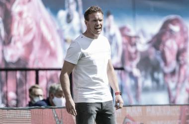Julian Nagelsmann avalia como 'lamentável' atuação do Leipzig em empate com lanterna