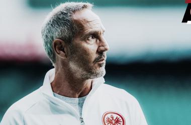 """Hütter admite frustração na eliminação do Frankfurt pela Copa da Alemanha: """"Ficamos decepcionados"""""""