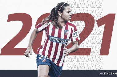Acuerdo entre Santa Fe y Atlético de Madrid por Leicy Santos