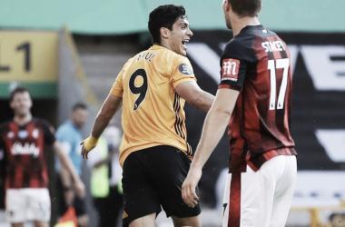 Jiménez decide outra vez e garante vitória apertada do Wolverhampton contra Bournemouth