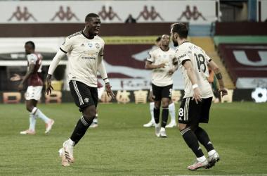 Manchester United vence Aston Villa com autoridade e bate recorde na Premier League