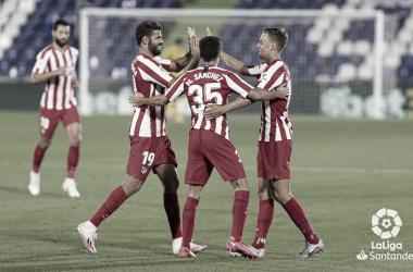 Atlético de Madrid derrota Getafe e se consolida na terceira colocação da LaLiga