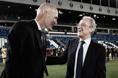"""Zidane elogia desempenho do Real Madrid e se orgulha pela conquista da LaLiga: """"Grupo fantástico"""""""