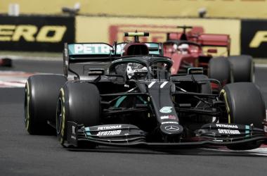 Bottas faz corrida de recuperação e quase tira segundo lugar de Verstappen no GP da Hungria