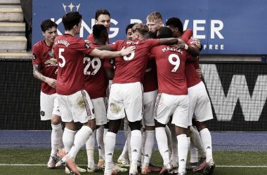 El Manchester United certifica ante el Leicester su billete a Champions