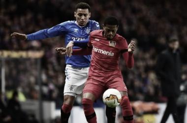 Leverkusen defende vantagem contra Rangers na busca por vaga nas quartas de Europa League