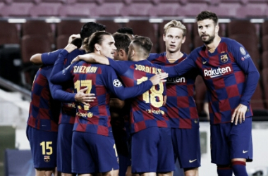 Barcelona decide no primeiro tempo, vence Napoli e se classifica às quartas da Champions League