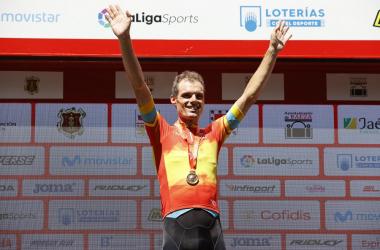 Luis León Sánchez cumple su sueño de ser campeón de España